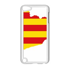 Flag Map Of Catalonia Apple iPod Touch 5 Case (White)