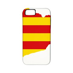 Flag Map Of Catalonia Apple iPhone 5 Classic Hardshell Case (PC+Silicone)