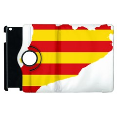 Flag Map Of Catalonia Apple iPad 2 Flip 360 Case