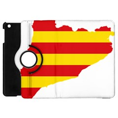 Flag Map Of Catalonia Apple iPad Mini Flip 360 Case