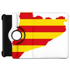 Flag Map Of Catalonia Kindle Fire HD Flip 360 Case