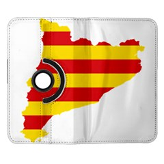 Flag Map Of Catalonia Samsung Galaxy Note II Flip 360 Case