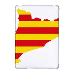 Flag Map Of Catalonia Apple iPad Mini Hardshell Case (Compatible with Smart Cover)