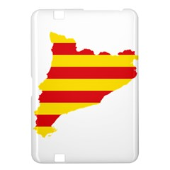 Flag Map Of Catalonia Kindle Fire HD 8.9