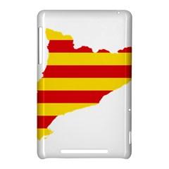 Flag Map Of Catalonia Nexus 7 (2012)