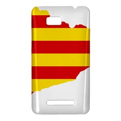 Flag Map Of Catalonia HTC One SU T528W Hardshell Case