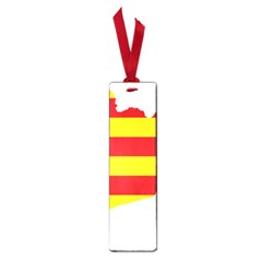 Flag Map Of Catalonia Small Book Marks