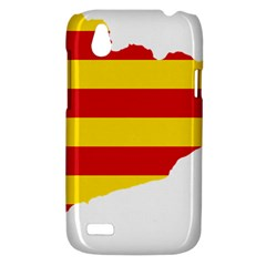 Flag Map Of Catalonia HTC Desire V (T328W) Hardshell Case