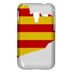 Flag Map Of Catalonia Samsung Galaxy Ace Plus S7500 Hardshell Case