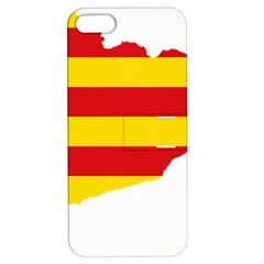 Flag Map Of Catalonia Apple iPhone 5 Hardshell Case with Stand