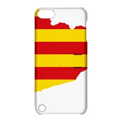 Flag Map Of Catalonia Apple iPod Touch 5 Hardshell Case with Stand