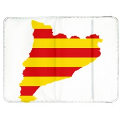 Flag Map Of Catalonia Samsung Galaxy Tab 7  P1000 Flip Case