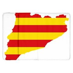 Flag Map Of Catalonia Samsung Galaxy Tab 8.9  P7300 Flip Case