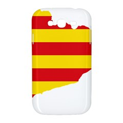 Flag Map Of Catalonia Samsung Galaxy Grand DUOS I9082 Hardshell Case