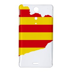 Flag Map Of Catalonia Sony Xperia TX