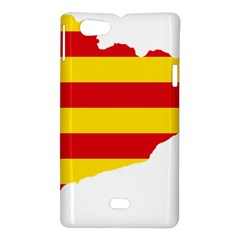 Flag Map Of Catalonia Sony Xperia Miro