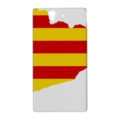 Flag Map Of Catalonia Sony Xperia Z