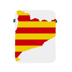 Flag Map Of Catalonia Apple iPad 2/3/4 Protective Soft Cases