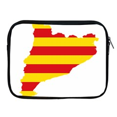 Flag Map Of Catalonia Apple iPad 2/3/4 Zipper Cases