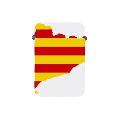 Flag Map Of Catalonia Apple iPad Mini Protective Soft Cases