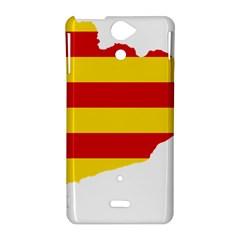 Flag Map Of Catalonia Sony Xperia V