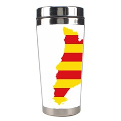 Flag Map Of Catalonia Stainless Steel Travel Tumblers