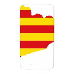 Flag Map Of Catalonia Samsung Note 2 N7100 Hardshell Back Case