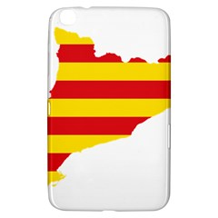 Flag Map Of Catalonia Samsung Galaxy Tab 3 (8 ) T3100 Hardshell Case