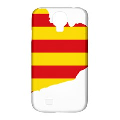 Flag Map Of Catalonia Samsung Galaxy S4 Classic Hardshell Case (PC+Silicone)