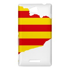 Flag Map Of Catalonia Sony Xperia C (S39H)