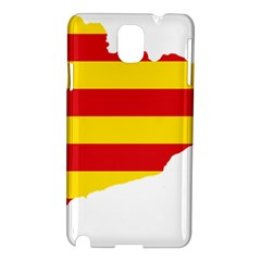 Flag Map Of Catalonia Samsung Galaxy Note 3 N9005 Hardshell Case