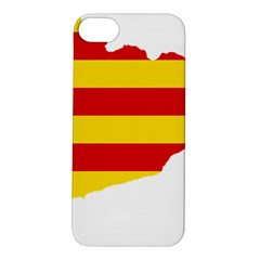 Flag Map Of Catalonia Apple iPhone 5S/ SE Hardshell Case