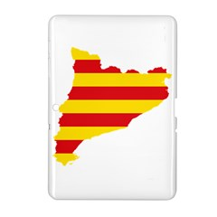 Flag Map Of Catalonia Samsung Galaxy Tab 2 (10.1 ) P5100 Hardshell Case
