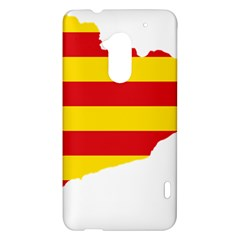 Flag Map Of Catalonia HTC One Max (T6) Hardshell Case