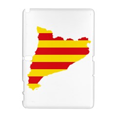 Flag Map Of Catalonia Samsung Galaxy Note 10.1 (P600) Hardshell Case