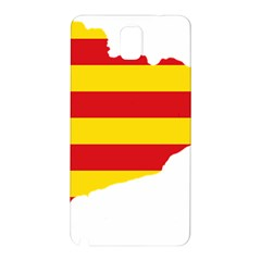 Flag Map Of Catalonia Samsung Galaxy Note 3 N9005 Hardshell Back Case