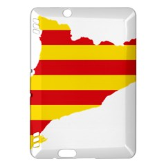 Flag Map Of Catalonia Kindle Fire HDX Hardshell Case