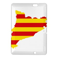 Flag Map Of Catalonia Kindle Fire HDX 8.9  Hardshell Case