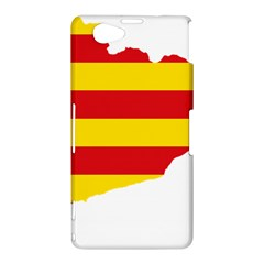 Flag Map Of Catalonia Sony Xperia Z1 Compact