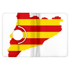 Flag Map Of Catalonia Kindle Fire HDX Flip 360 Case