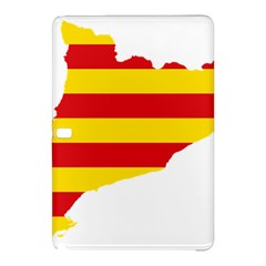 Flag Map Of Catalonia Samsung Galaxy Tab Pro 10.1 Hardshell Case