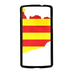 Flag Map Of Catalonia Nexus 5 Case (Black)