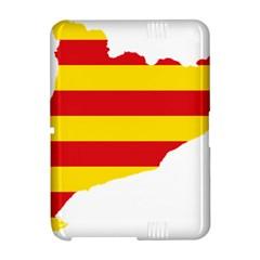 Flag Map Of Catalonia Amazon Kindle Fire (2012) Hardshell Case