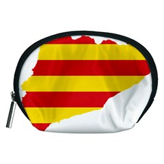 Flag Map Of Catalonia Accessory Pouches (Medium)