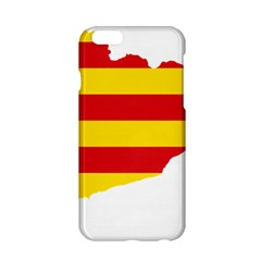 Flag Map Of Catalonia Apple iPhone 6/6S Hardshell Case