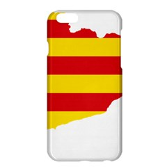 Flag Map Of Catalonia Apple iPhone 6 Plus/6S Plus Hardshell Case