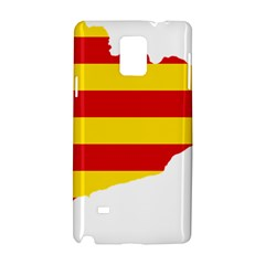Flag Map Of Catalonia Samsung Galaxy Note 4 Hardshell Case