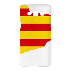 Flag Map Of Catalonia Samsung Galaxy A5 Hardshell Case