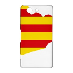 Flag Map Of Catalonia Sony Xperia Z3 Compact