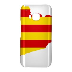 Flag Map Of Catalonia HTC One M9 Hardshell Case